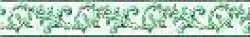 Бордюр Акварель 3х20 зеленый
