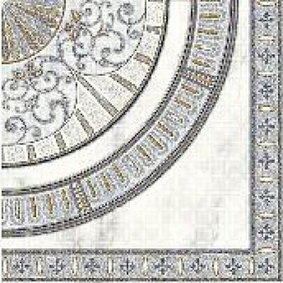 Элемент панно Carrara CE6G494 для пола 44х44 серый