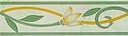 Бордюр Венера зеленый 5.7х20