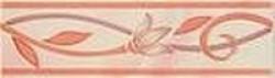 Бордюр Венера розовый 5.7х20