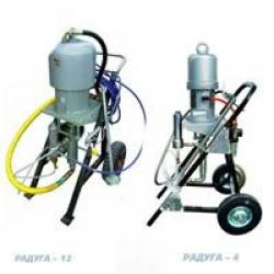 Установки безвоздушного распыления «Радуга4», «Радуга12»