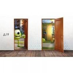 Дверные накладки 3Д ВИКТОРИЯ 600\700\800х2010х3,2мм Д19