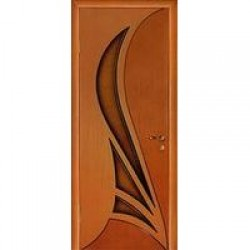 Двери «МариаМ», Модель «Корона» (шпон), полотно глухое, дуб комбинированный, 550-900 мм
