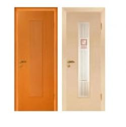 Двери «МариаМ», Модель «Бетта» (шпон), полотно глухое, венге, дуб, дуб беленый, 550-900 мм