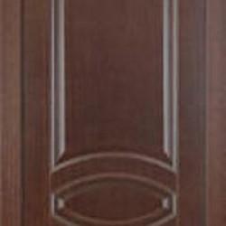Двери «ДОП№1», Модель:Porta Classic «Florencia», полотно глухое, орех темный, орех миланский, 550-700 мм