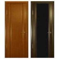Двери «АртДеко», Коллекция «ЭЛЕГАНТ»: Модель «Спациа-3 со стразами », полотно остекленное (черный триплекс), 900 мм