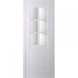 Двери Ампир, (полотна с фрезерованной решеткой) дар, доо, дом, белый