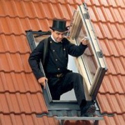 VELUX GXL 3073 - выход на крышу и одновременно мансардное окно 66х118 см