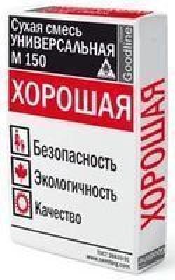"""Сухая смесь М 150 ХОРОШАЯ """"Каменный цветок"""" (35 кг)"""